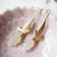 Dove earring by bettina johnson
