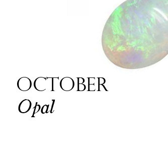 Pink opal birthstone for october