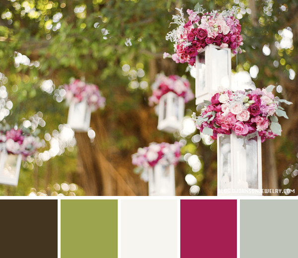 Color Palette // Wedding Decoration | Oh Everything Handmade