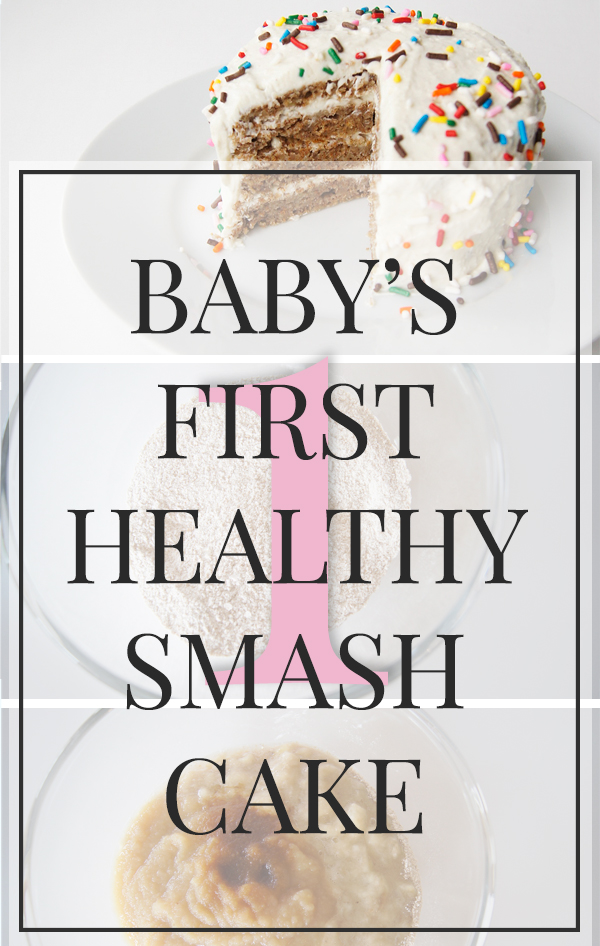 Baby's First Healthy smash cake