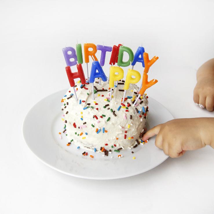 Oh Everything Handmade First Birthday Cake