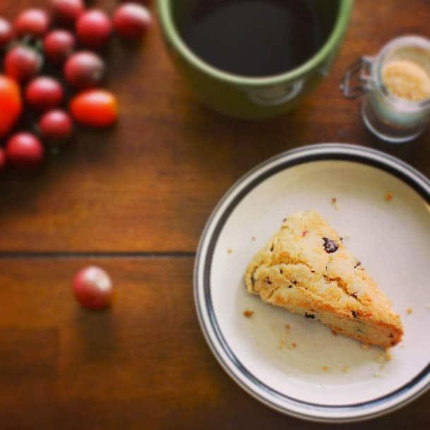 Recipe // Dried Cherry Scones