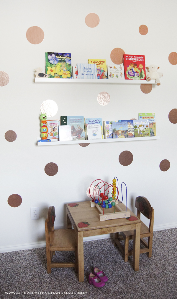 Wall Decoration In Rooms : Diy kids room wall decor and book storage
