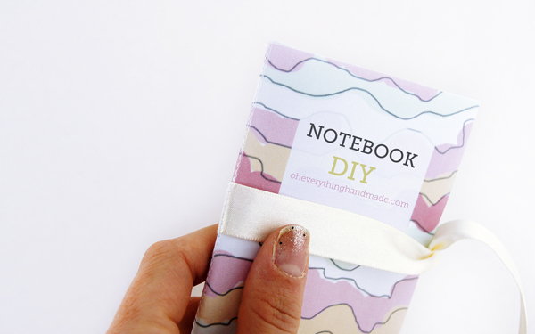 Step 7 - Fold the Notebook, done!