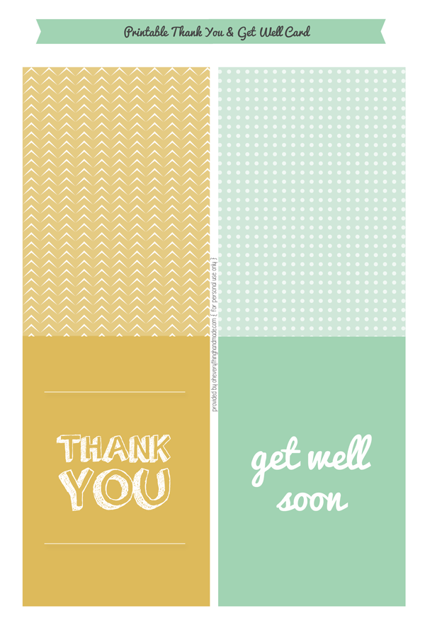 Thank you & Get well Cards available for Purchase in our Shop