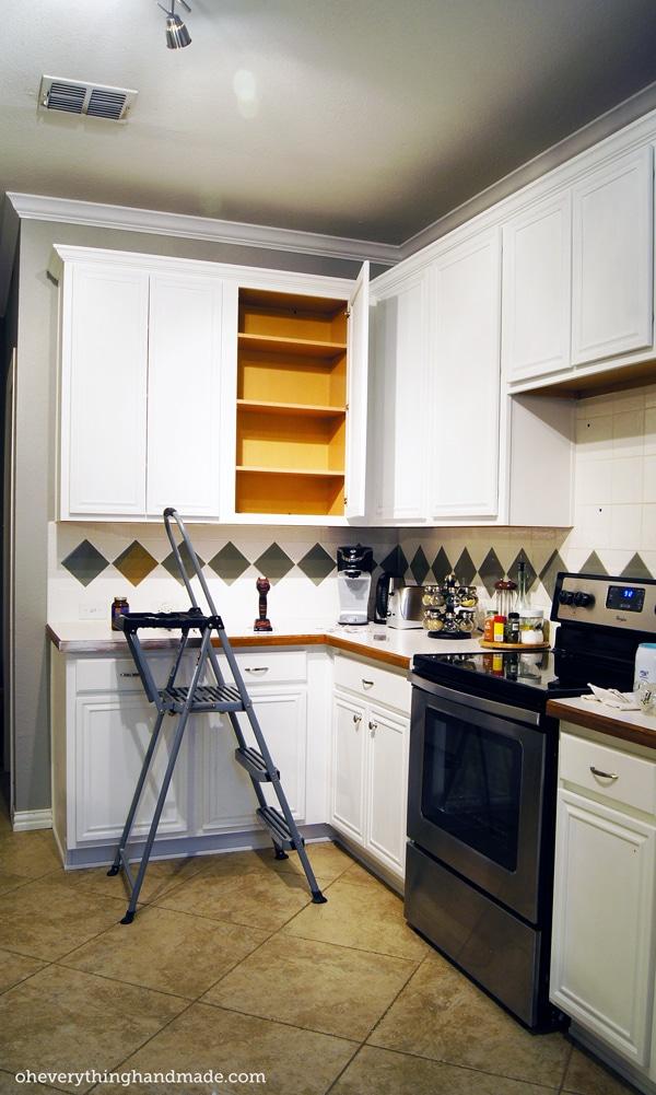 Kitchen Remodel Removing Upper Cabinets