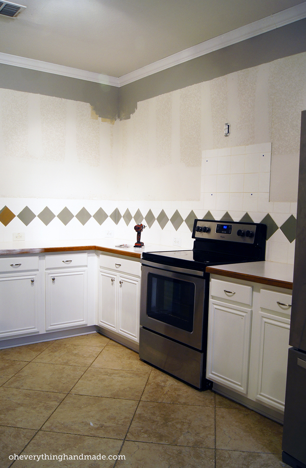 Kitchen Cabinets Upper kitchen remodel // removing upper cabinets