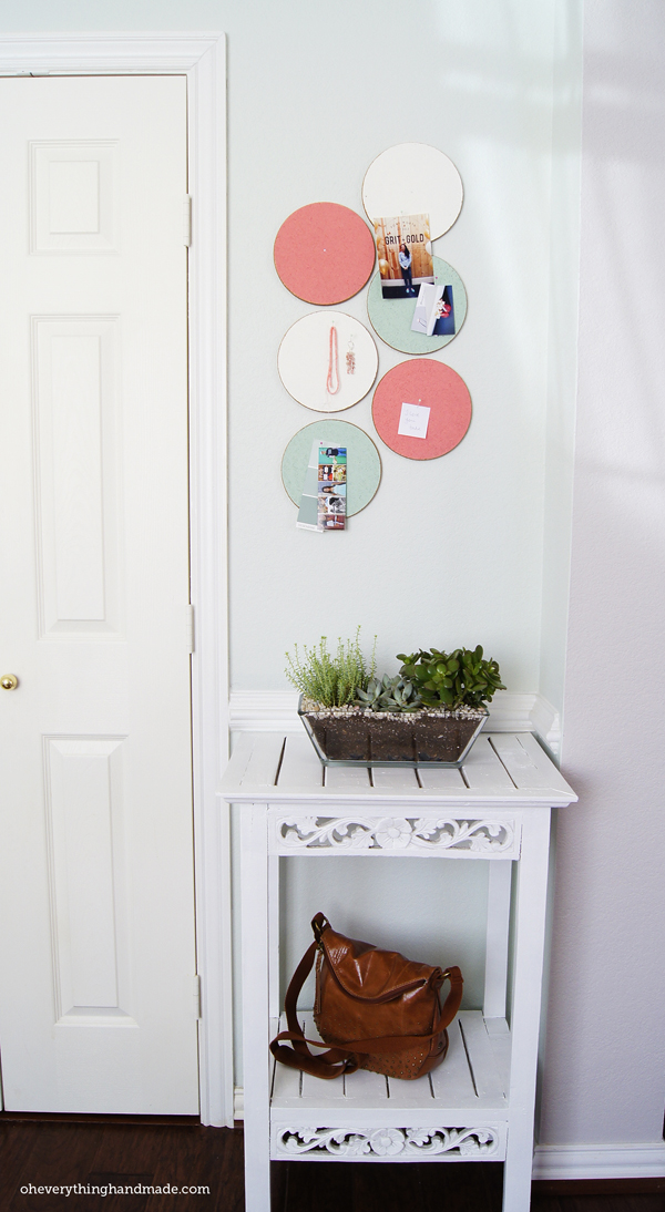 Diy custom cork board ikea hack oh everything handmade for Ikea cork board
