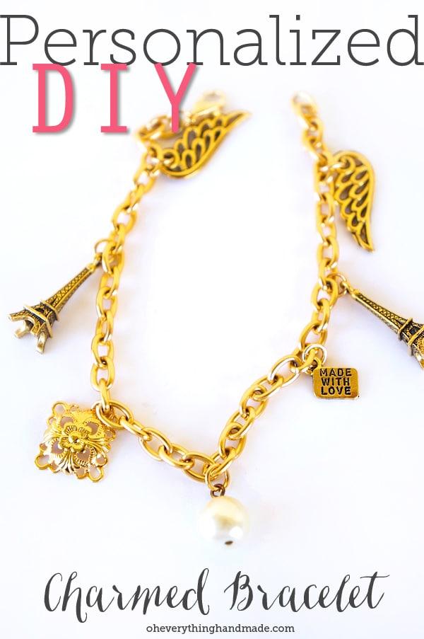 Personalized DIY Charmed Bracelet via OYINDOUBARA