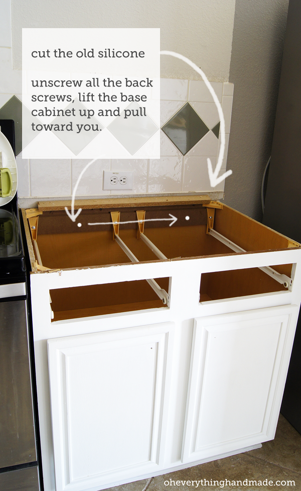 Base Cabinet Without Countertop