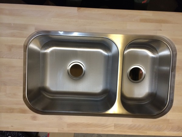 Kitchen // How to cut a sink hole into butcher block