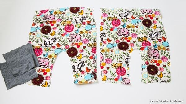 Diy Toddler Harem Pants Via Oheverythinghandmade