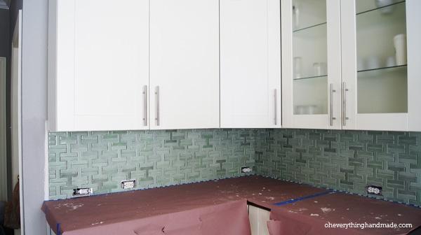 Finished tiling