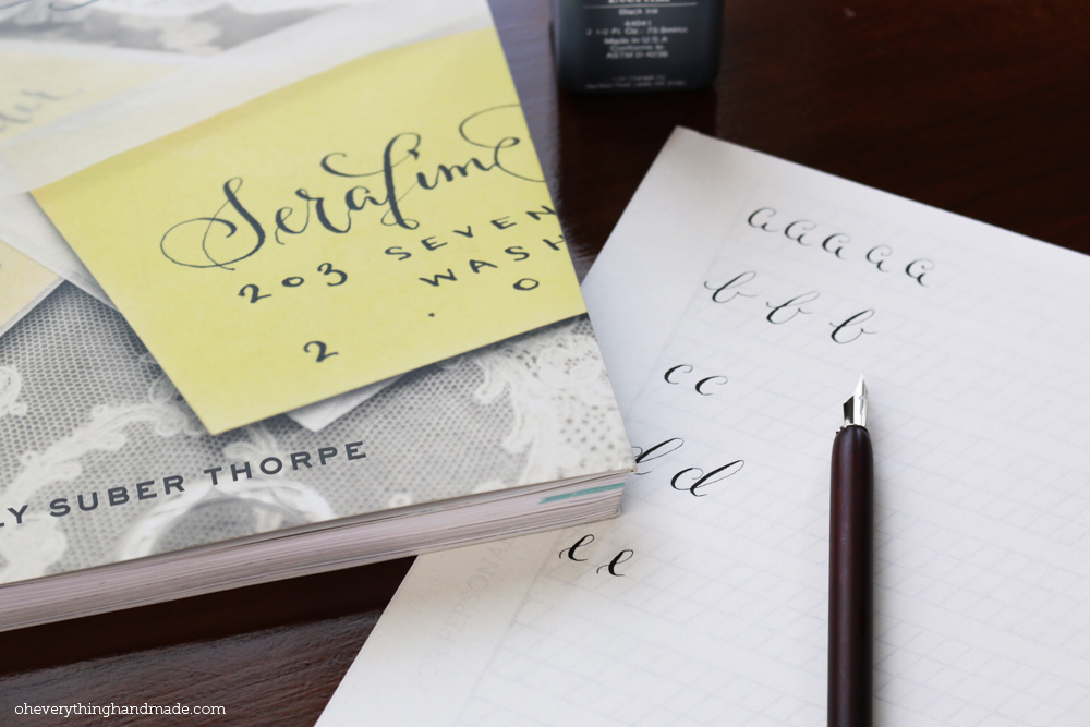 Calligraphy learning resources