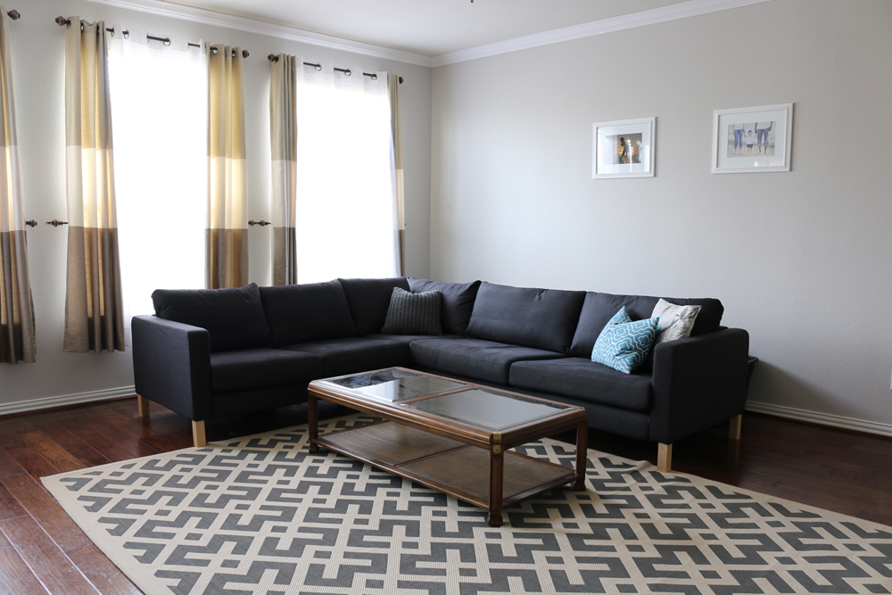 living room ideas l shaped sofa from coffee table to ottoman 26976