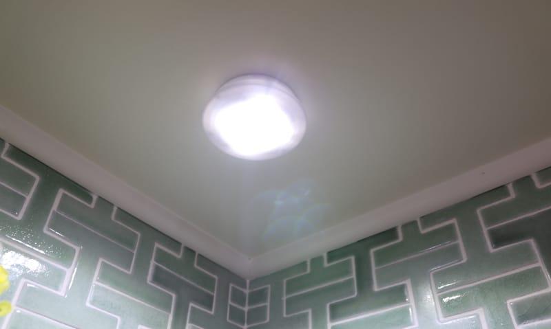 My corner light