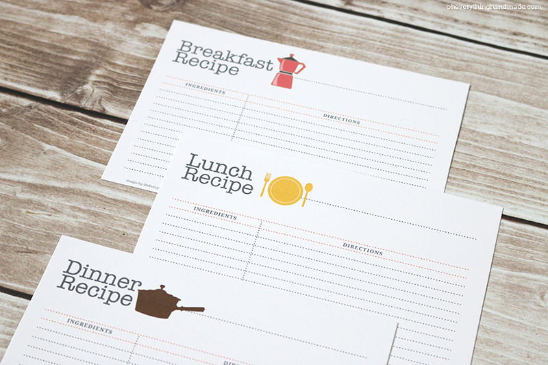 Recipe Cards All3