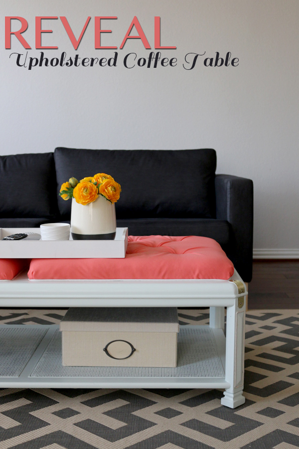 Reveal-coffee table