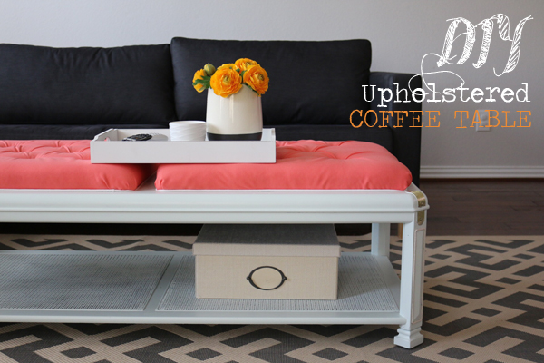 Upholstered Coffee Table Final
