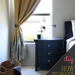 Make your own Bedroom Curtains