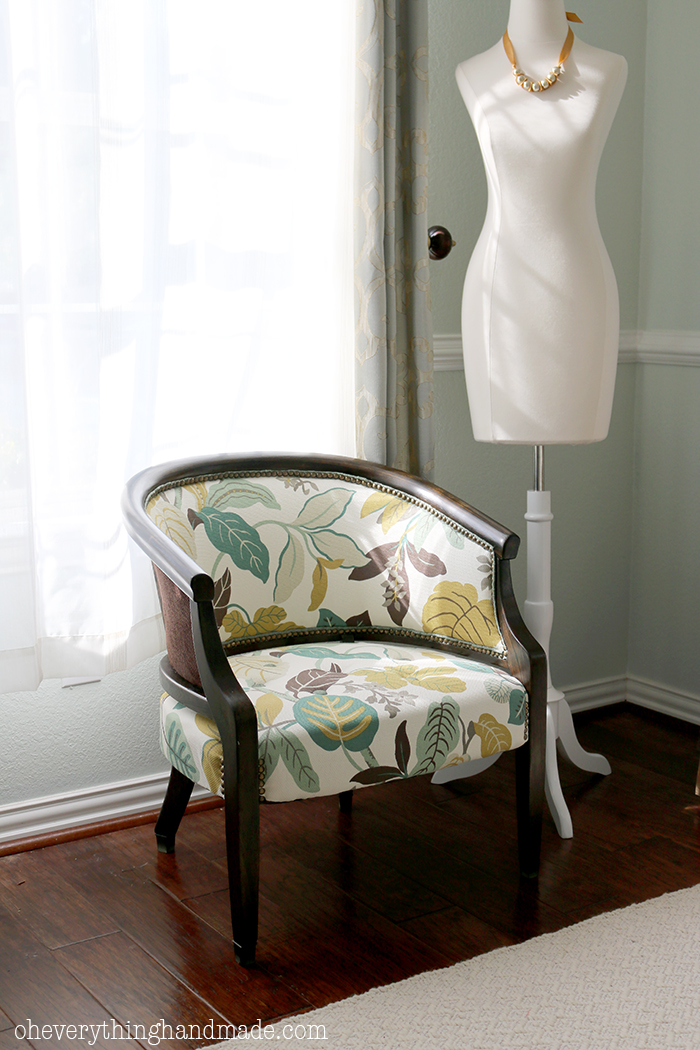 Upholstered Chair1