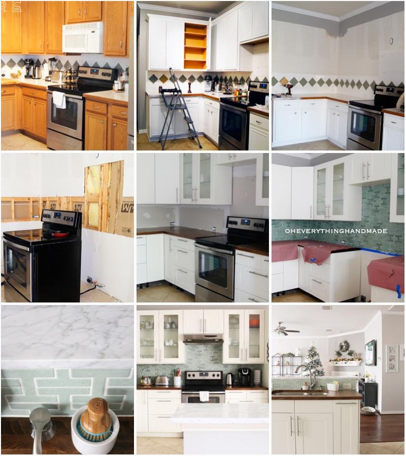 All Steps Kitchen Remodel