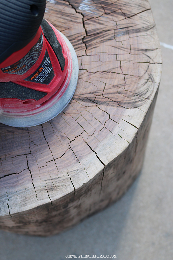 Stump Side table6