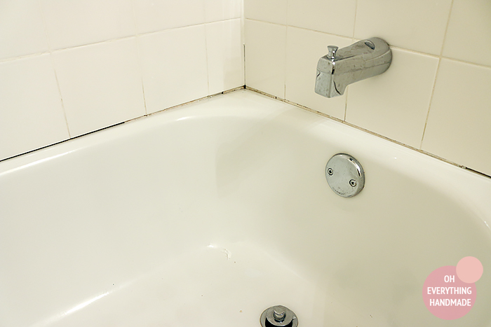 Bathtub Re-Caulking by Oh Everything Handmade2