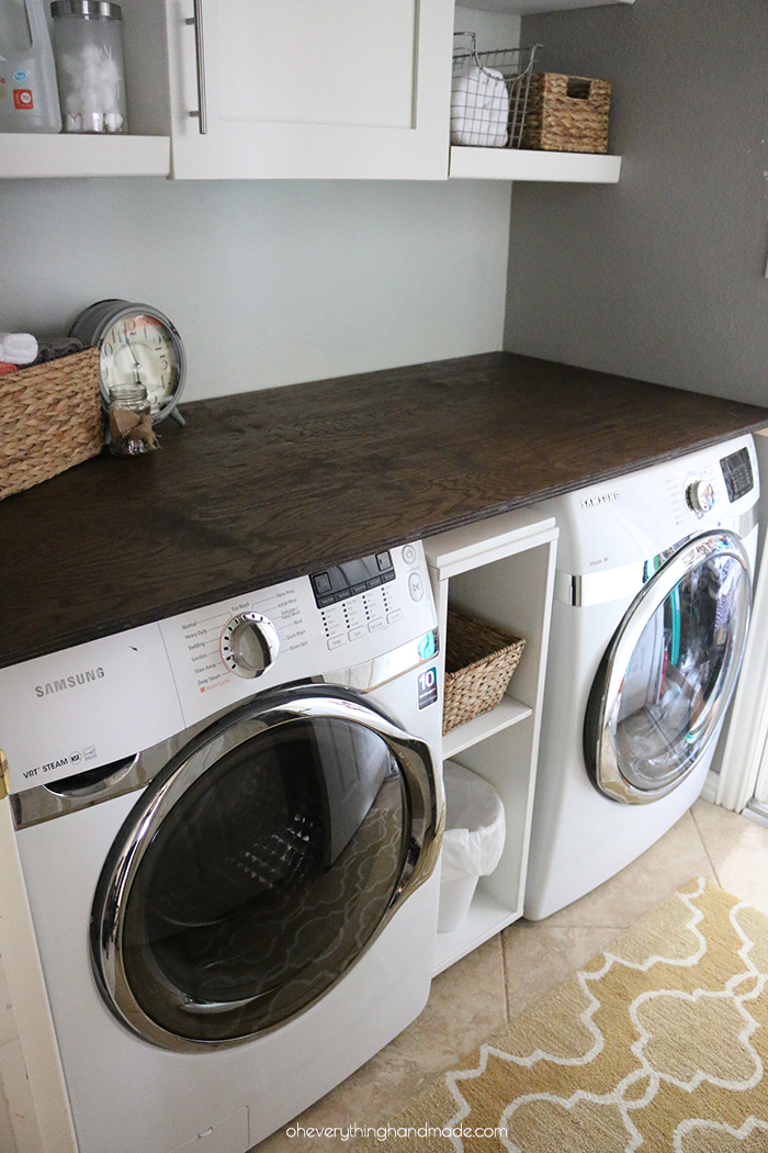 Diy Laundry Room Transformation Oh Everything Handmade