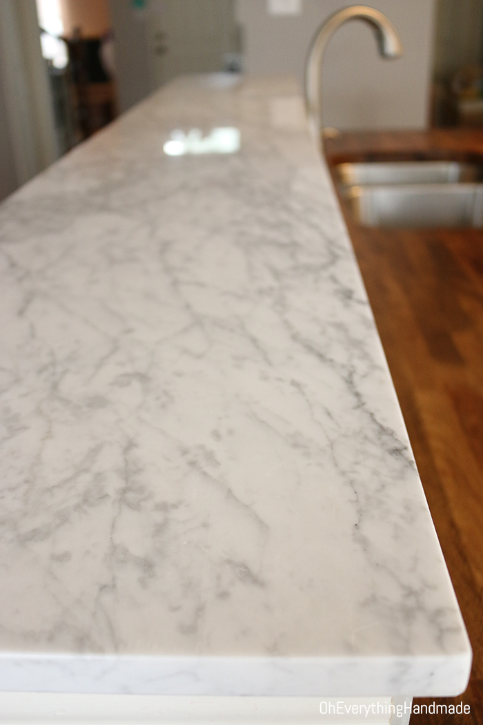 Superieur Marble Kitchen Bar Top Installed