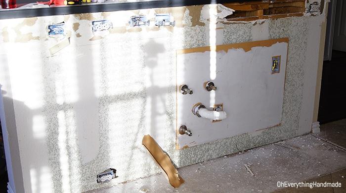 Kitchen bar teardown