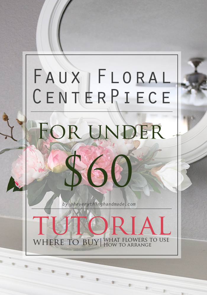 Faux Floral AFloral by Oheverythinghandmade
