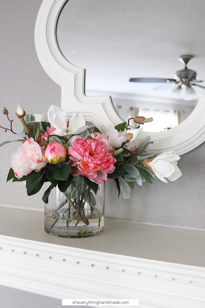 Faux Floral Centerpiece Tutorial » Oh Everything Handmade