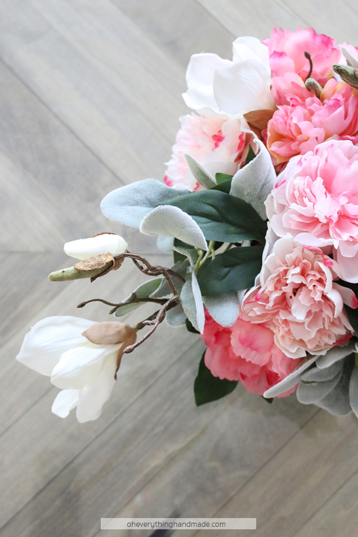 Faux Floral Centerpiece by Oheverythinghandmade3