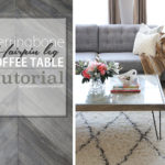 Herringbone Coffee Table by Oheverythinghandmade700