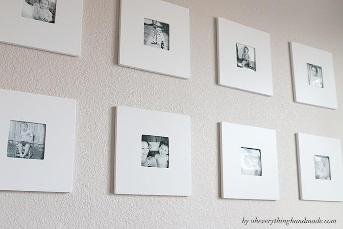 Overnight Playroom Makeover-Gallery wall