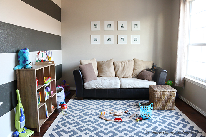 Overnight Playroom Makeover