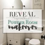 Reveal // Powder Room Makeover