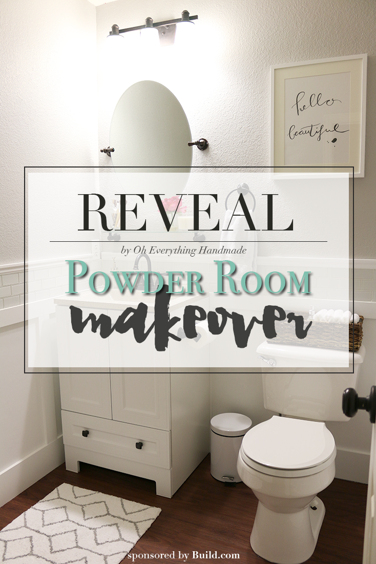 Powder Room Reveal-Feature