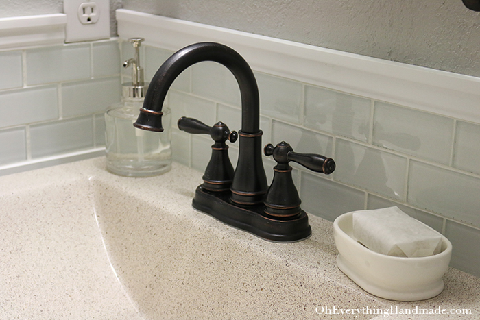 Powder Room Reveal-Installation Fixtures-1
