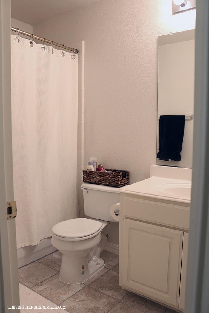 Guest Bathroom House Tour - Part 2