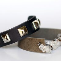 Chunky Leather Bracelet1