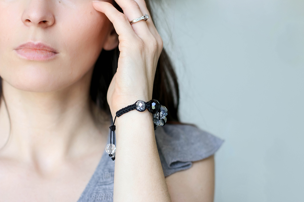 Shambala bracelet by OhEverythingHandmade