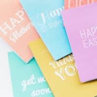 Printable Occasion Card Set