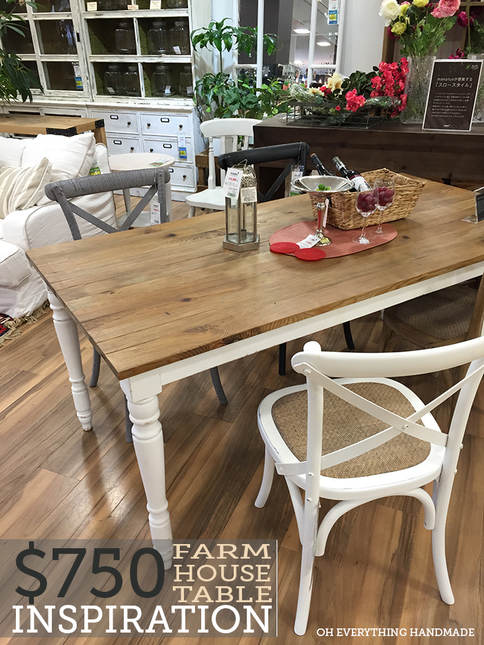 Dining Farm House Table Inspiration