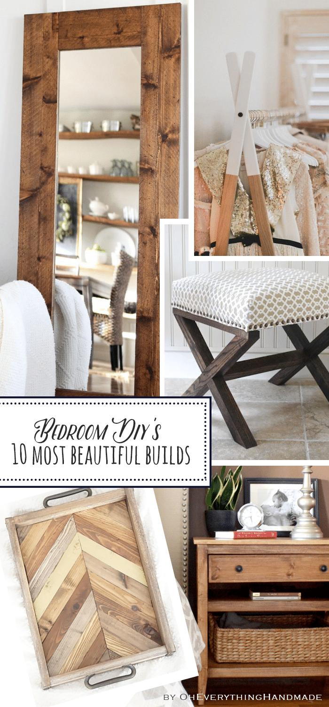 Bedroom DIY's - 10 most beautiful builds