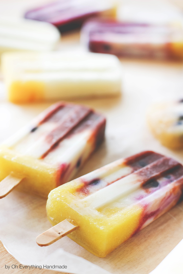 Essential Oil Infused Popsicle - Recipes