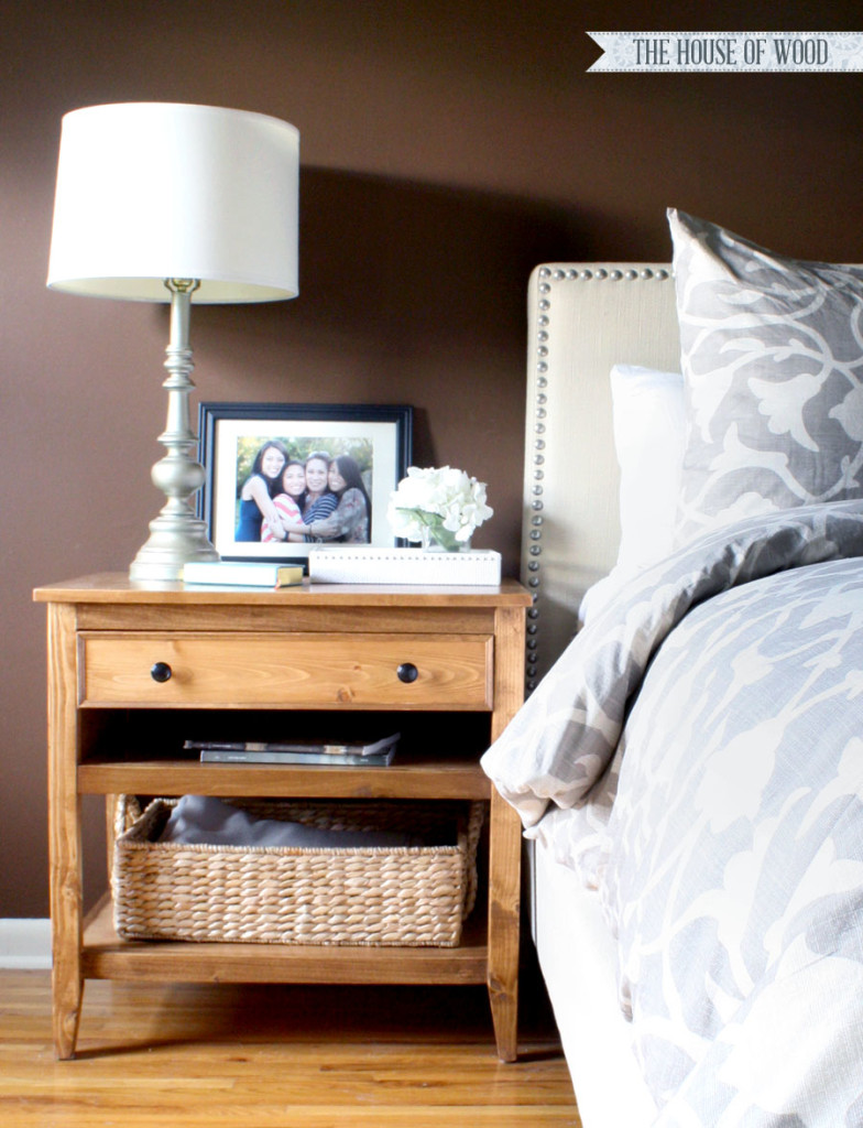 DIY Bedside Tables by JenWoodHouse