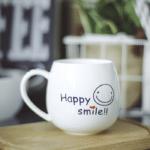 Happy Smile Mug - back side