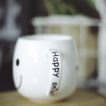 Happy Smile Mug - side handle